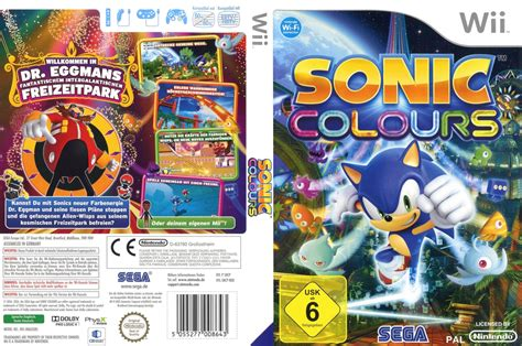 sonic colors wii sncp8p sonic colours