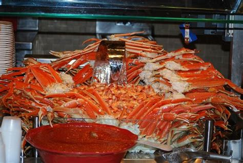 Seafood At The Fresh Harvest Restaurant S Buffet Seminole Rock Buffet