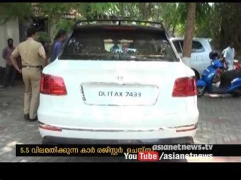 bentley kerala most expensive car bentley registered in cherthala kerala