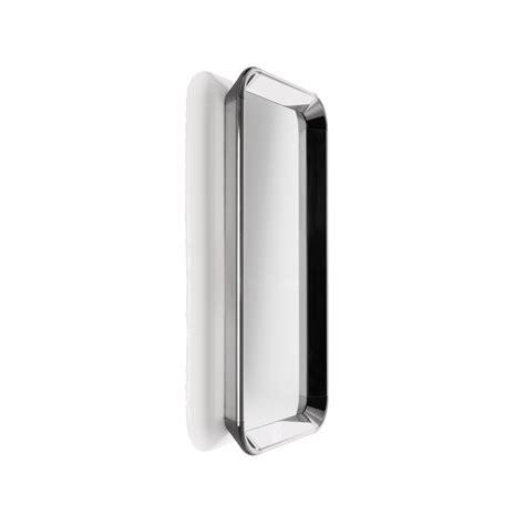 cornice alluminio specchio con cornice in alluminio d 233 j 224 vu mirror arredaclick