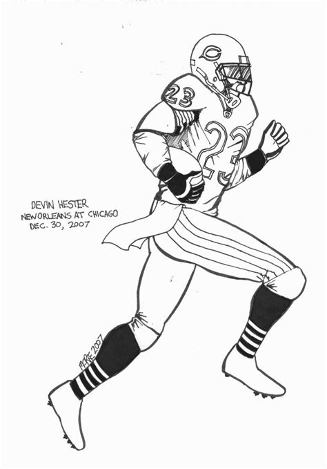 coloring pages of nfl football players free football players coloring pages coloring home