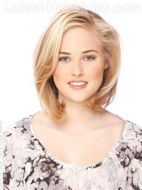 medium cut hairstyles for thin hair hairstyles for thin medium length hair