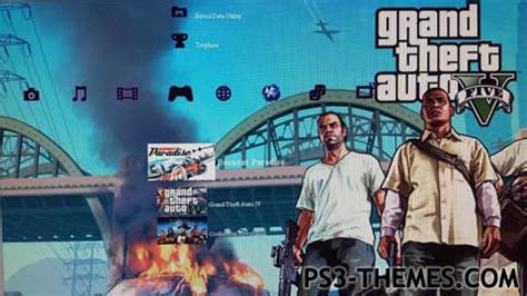 ps3 themes hd gta 5 ps3 themes 187 gta v slideshow updated