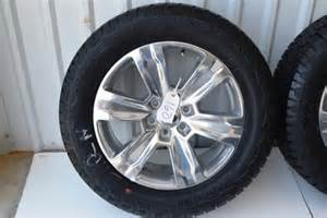 Ford F150 Wheels And Tires Package Ford F150 Platinum 20 Inch Oem Factory Wheels And Hankook