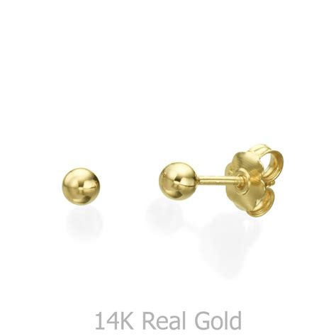 In Stud Earrings gold stud earrings classic circle small youme offers