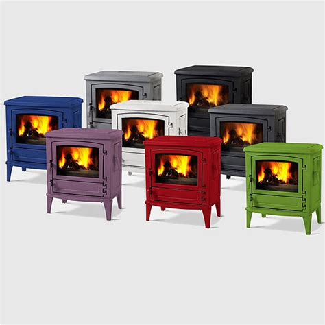colored stoves coloured wood burning stoves new home wood stove