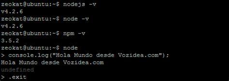 javascript tutorial ubuntu instalar node js en ubuntu o debian taringa