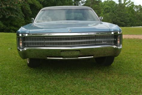 1969 Chrysler Imperial For Sale by 1969 Chrysler Imperial Lebaron 4 Door Hardtop