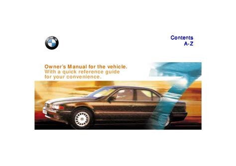 download car manuals 1997 bmw 7 series regenerative braking 1997 bmw e38 740i 750il owners manual