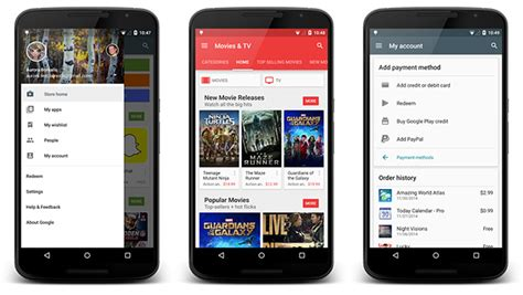 layout new app redesigned google play store for android is coming our way
