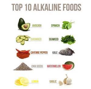 top 10 foods top 10 alkaline foods tangee taught u