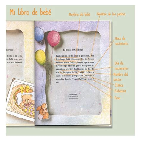 libro si su bebe es mi libro de bebe