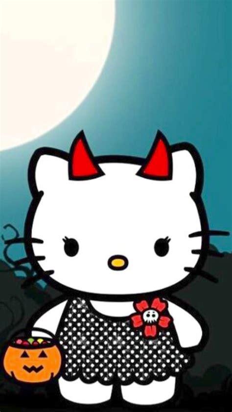 imagenes de halloween hello kitty iphone wallpaper halloween tjn iphone walls halloween