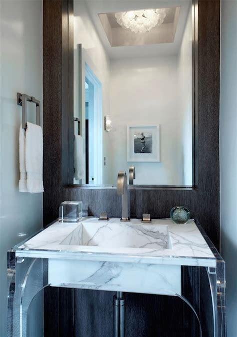 Decorpad Modern Bathroom Lucite Washstand Modern Bathroom Mar Silver Design