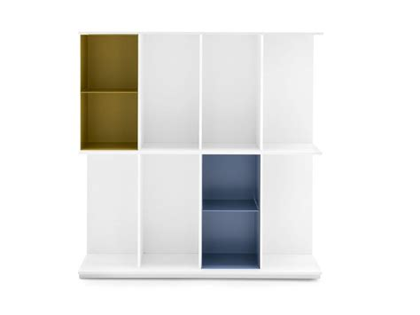 division mdf bookcase by calligaris design design lab