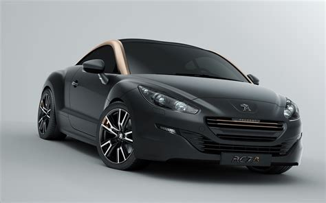 peugeot sport rcz peugeot rcz sports coupe 2013 widescreen car