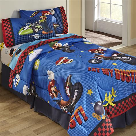 mario bedroom nintendo super mario twin comforter