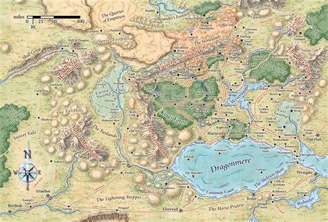 forgotten realms map map of cormyr forgotten realms cormyr