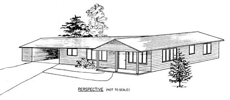 free sle house plans ranch style house clipart images
