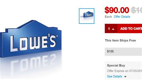 best staples lowes gift card deal noahsgiftcard