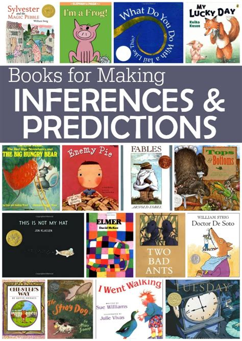 picture books for predicting predictions on prediction anchor chart