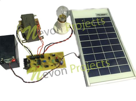 solar based ups project nevonprojects