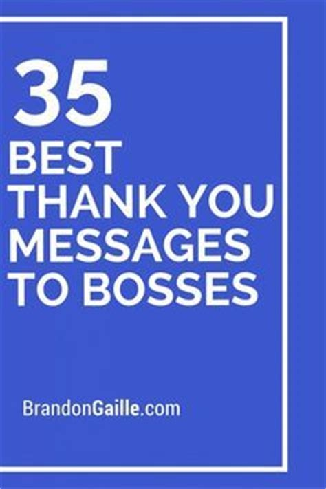 Thank You Letter Quotation Approval 37 best thank you messages to bosses messages gratitude