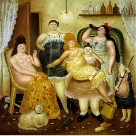 cuadro botero cuadro de botero la casa de mariduque cuadrosguapos