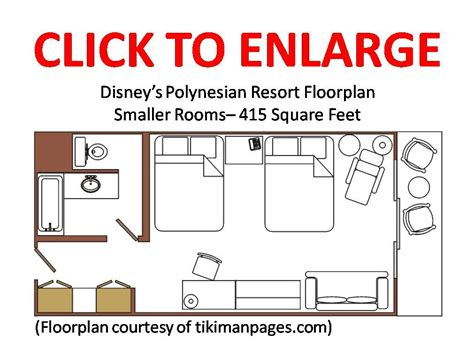 Disney World Resort Hotel Floor Plans - review deluxe rooms at the wilderness lodge p3