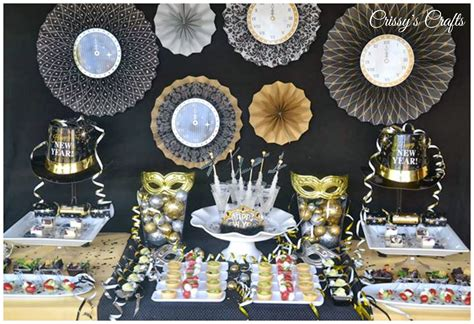 new year party decoration ideas at home crissy s crafts new years eve party ideas
