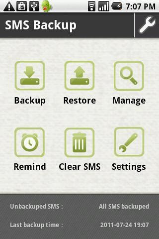 backup sms android how to backup and restore sms messages in android romeo