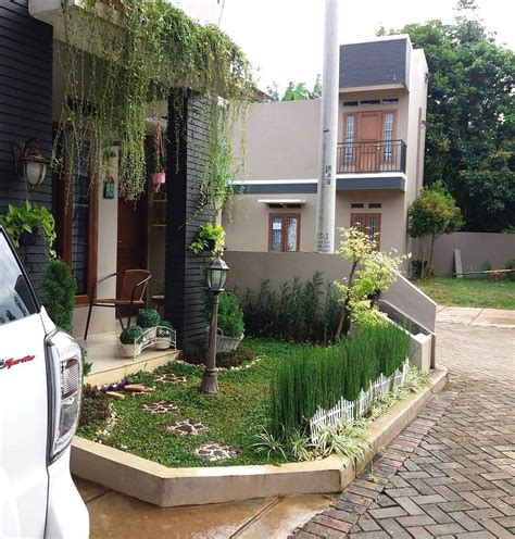 taman minimalis depan rumah type  taman minimalis pinterest car ports interiors  house