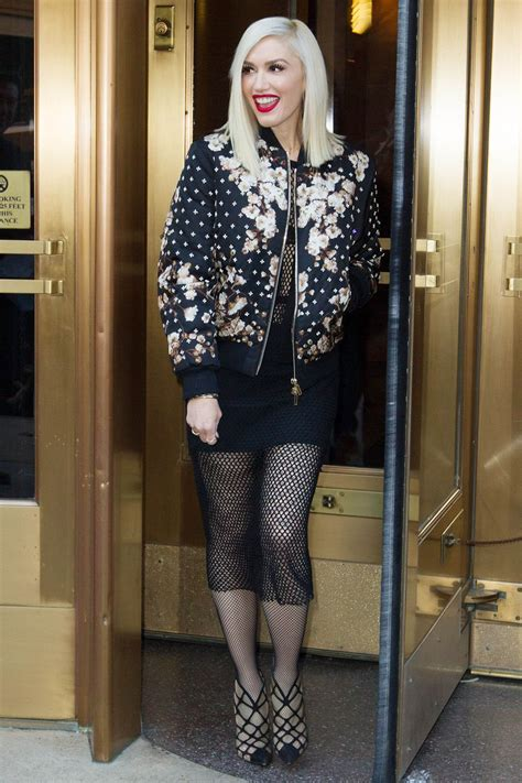 Style Gwens by Gwen Stefani Style Leaving Z100 Studios In New York City