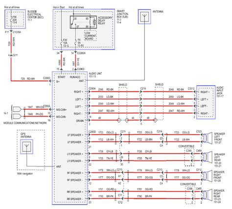 2005 ford five hundred radio wiring diagram to pic in