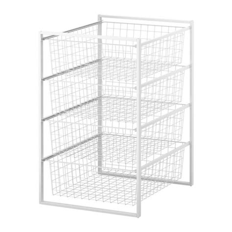 ikea basket drawers antonius frame and wire baskets ikea