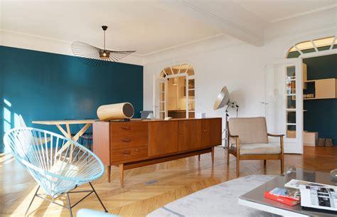 peinture salon cuisine ouverte awesome cuisine ouverte bleu canard images design trends