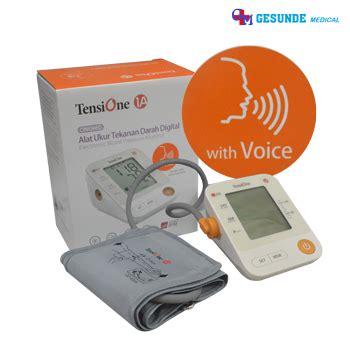 Alat Ukur Ph Darah tensimeter digital tensione 1a dilengkapi suara toko