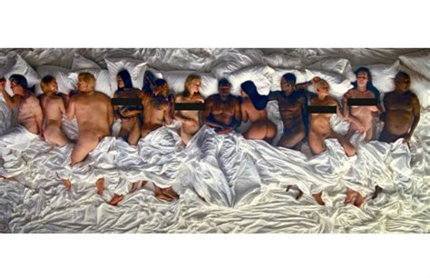 kanye west in bed a new famous mural in melbourne shows kanye west taylor