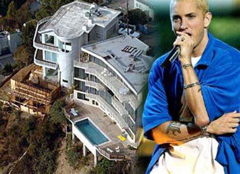 eminem casa casas de cantantes famosos