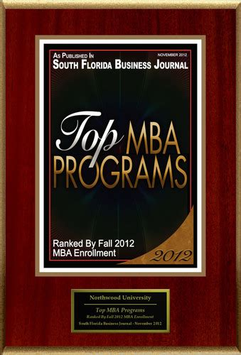 Mba Programs Nederland by Northwood Selected For Top Mba Programs