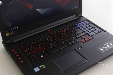 Laptop Asus Predator we tested acer predator 17 gaming laptop zing gadget