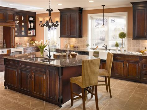 cherry cabinets black molding black crown molding crown molding turned legs and mullion glass doors add