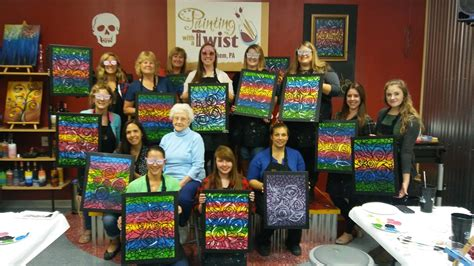 paint with a twist media pa painting with a twist bethlehem pennsylvania