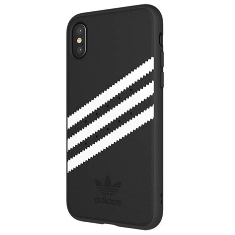 Cover Adidas Black iphone x adidas originals moulded cover black white