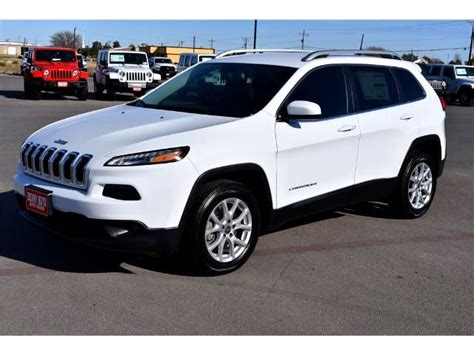 white jeep cherokee 2017 marble falls 2017 jeep cherokee latitude new for sale