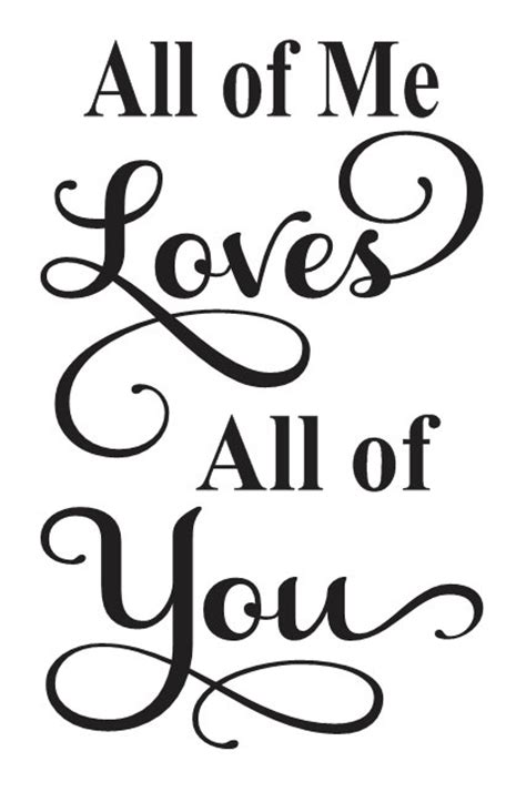 printable wall stencils quotes primitive love stencil all of me loves all of you 12 quot x18