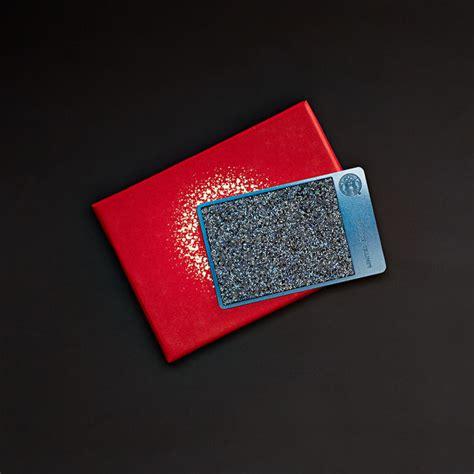 Swarovski Gift Card - crystal covered gift cards blue swarovski crystals