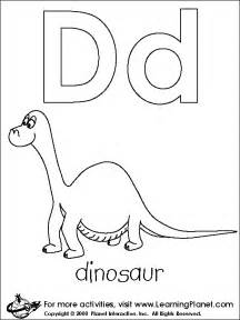letter d dinosaur coloring pages get coloring pages