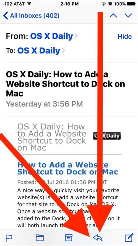 how to foward how to forward an email from iphone mail properly