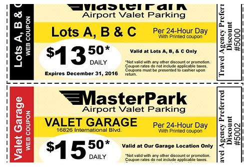 coupons cheap airport parking